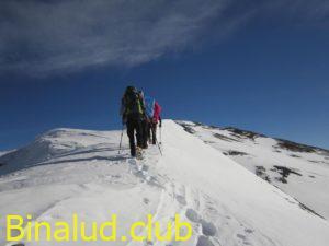 حرکت به سمت قله لشگرک بزرگ