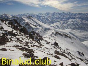 ادامه مسیر از قله لشگرک به سمت خرسچر