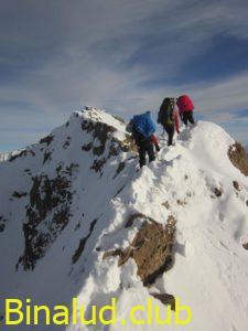 مسیر تیغه ای قله خرسچر