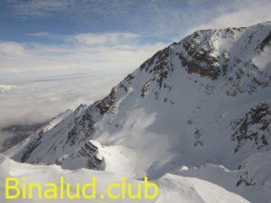 یال صعود قله زرین کوه از روستای دلیر